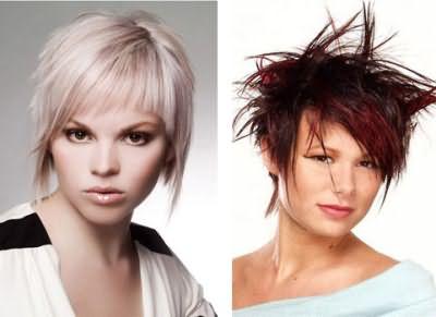 Многослойная причёска - резкость и женственность одновременно