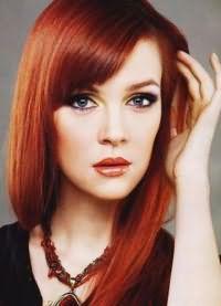 красивые оттенки рыжего цвета волос 4