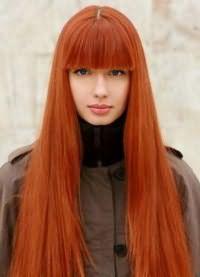 красивые оттенки рыжего цвета волос 7