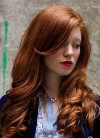 красивые оттенки рыжего цвета волос 9
