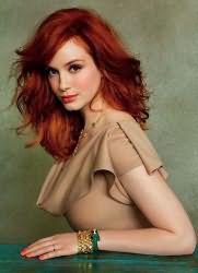 кому идет рыжий цвет волос
