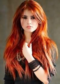 кому идет рыжий цвет волос 6