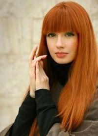 кому идет рыжий цвет волос 8