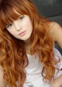 кому идет рыжий цвет волос 9