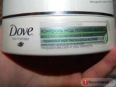 Маска для волос Dove Контроль над потерей волос фото
