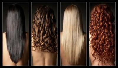 Тип и цвет волос