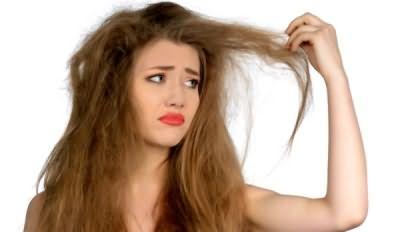 Фото – жесткие волосы доставляют много трудностей
