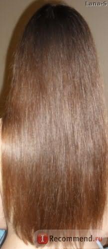 волосы после применения