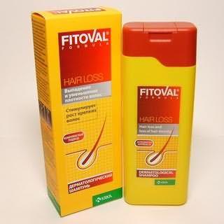 Шампунь Фитовал для борьбы с выпадением волос