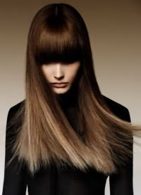 окрашивание шатуш на темные волосы 6