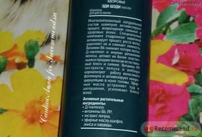 Шампунь Сибирское здоровье Эди Шэди (Магия) для роста волос Зеленая серия фото