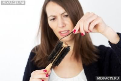 сильно выпадают волосы после родов
