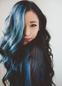тоник для волос синего цвета 7