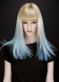 тоник для волос синего цвета 8