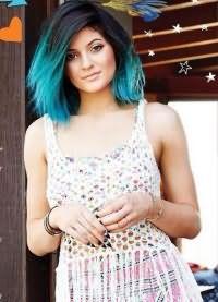 тоник для волос синего цвета 9