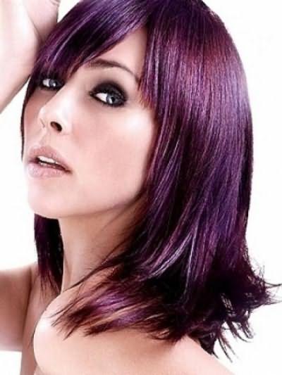 Фиолетовые волосы