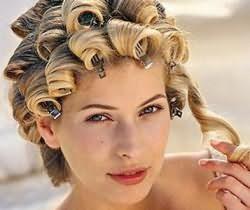 Такой вид завивки подходит для разной длины волос