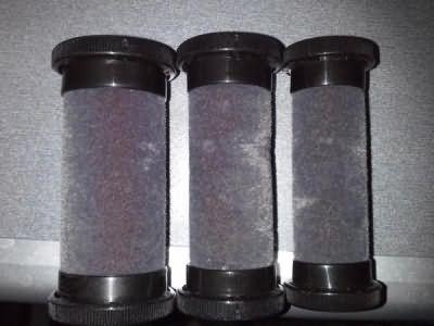 На фото - электрические бигуди с бархатным покрытием