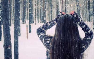 Зимой деление клеток волоса замедляется приблизительно на 20—30%