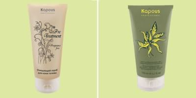 Скраб Kapous для очищения кожи головы