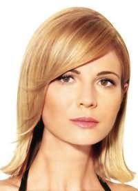 стрижка на тонкие редкие волосы средней длины 8