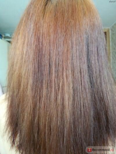 Сухие волосы готовы к окрашиванию краской