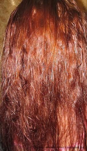 волосы после 2-ой смывки