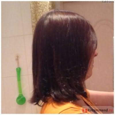 Это волосы после - общий тон волос почти выровнялся, еще одна кефирная маска на кончики - и я смою весь чёрный цвет со своих волос!