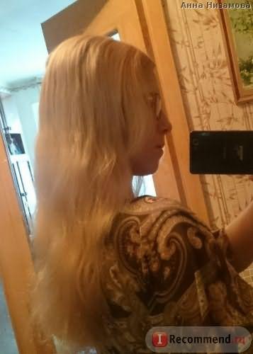 Спрей - кондиционер Золотой шелк c эффектом ламинирования волос фото