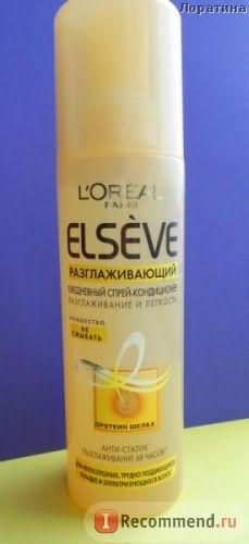 Спрей для волос L'OREAL Ежедневный спрей-кондиционер Elseve разглаживающий фото