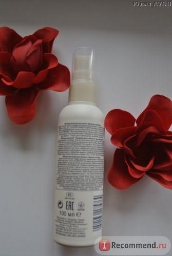"""Бальзам-спрей для волос Avon Naturals """"Малина и гибискус"""" фото"""