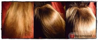Видно как растут новые волоски
