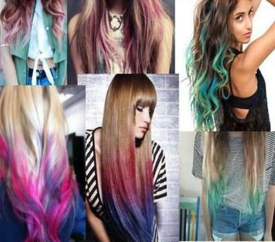 смывающаяся краска для волос