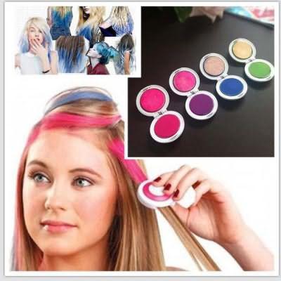 краска для волос смывающаяся шампунем