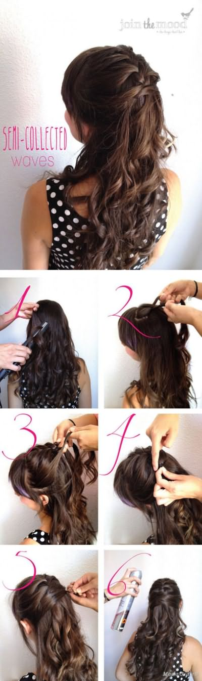 Прически на средние волосы с фото