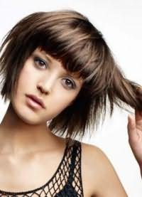 лесенка на короткие волосы 9