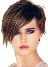 стрижка на тонкие редкие волосы круглое лицо 8