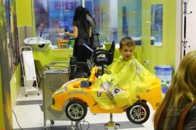Разумное решение для удержания ребенка в кресле
