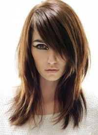 стрижка придающая объем тонким волосам 4