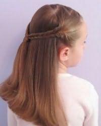 Прическа с распущенными волосами для девочки 10 лет