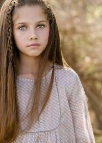 Прическа на длинные волосы для девочки 12 лет