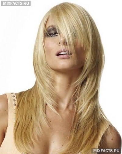 стрижки для средних тонких волос