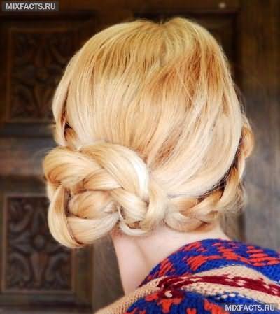 Причёски на средние волосы на каждый день