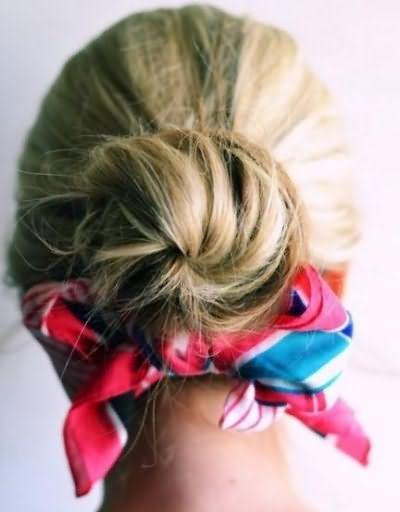 схемы причесок на средние волосы