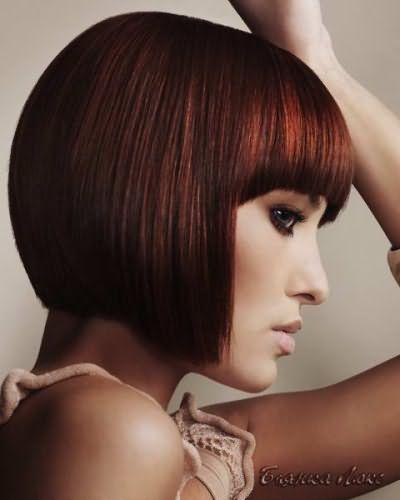 стрижки на средние волосы 2016 на круглое лицо