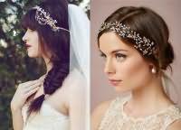 Модные свадебные прически 2016 5