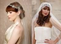 Модные свадебные прически 2016 8
