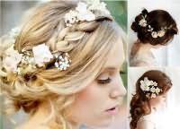 Модные свадебные прически 2016 9