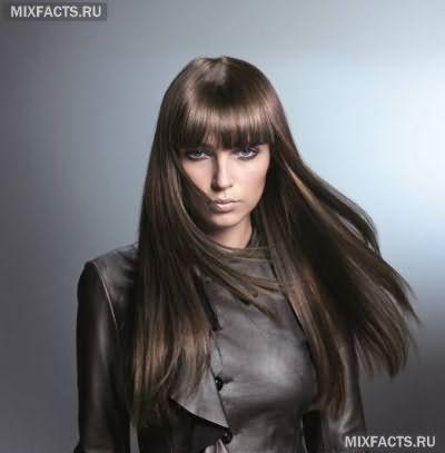 холодный коричневый цвет волос