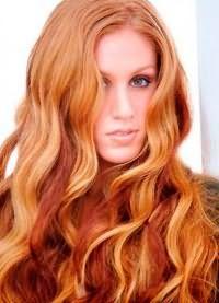 светло рыжий цвет волос кому идет 4
